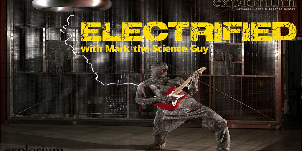Electrified at Explorium with Mark the Science Guy