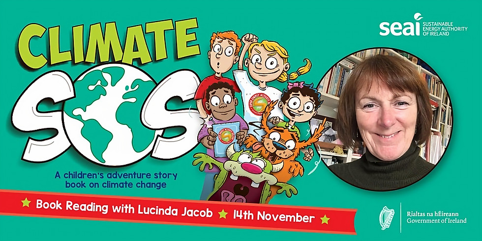 SEAI Children's Book Reading with Lucinda Jacob