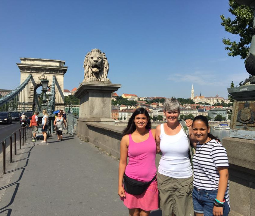 Sightseeing at the Danube