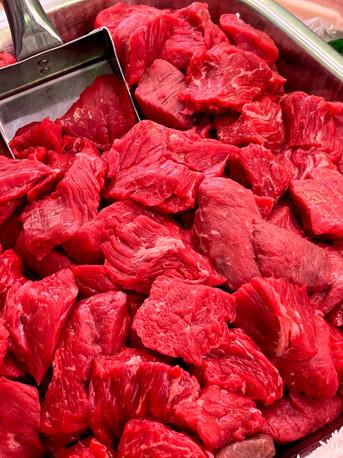 Diced Welsh Beef