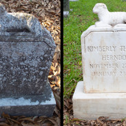 Cleaning Grave Markers