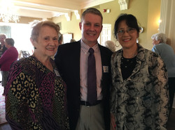 Elaine Z. and Sophia F., May Luncheon 2018