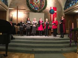 WSMC Chorale - singalong, Dec. 13, 2017