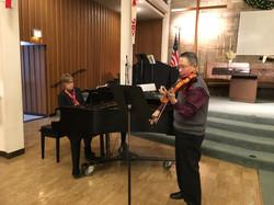 Nancy Hagen, Robert Hariman, Dec. 13, 2017