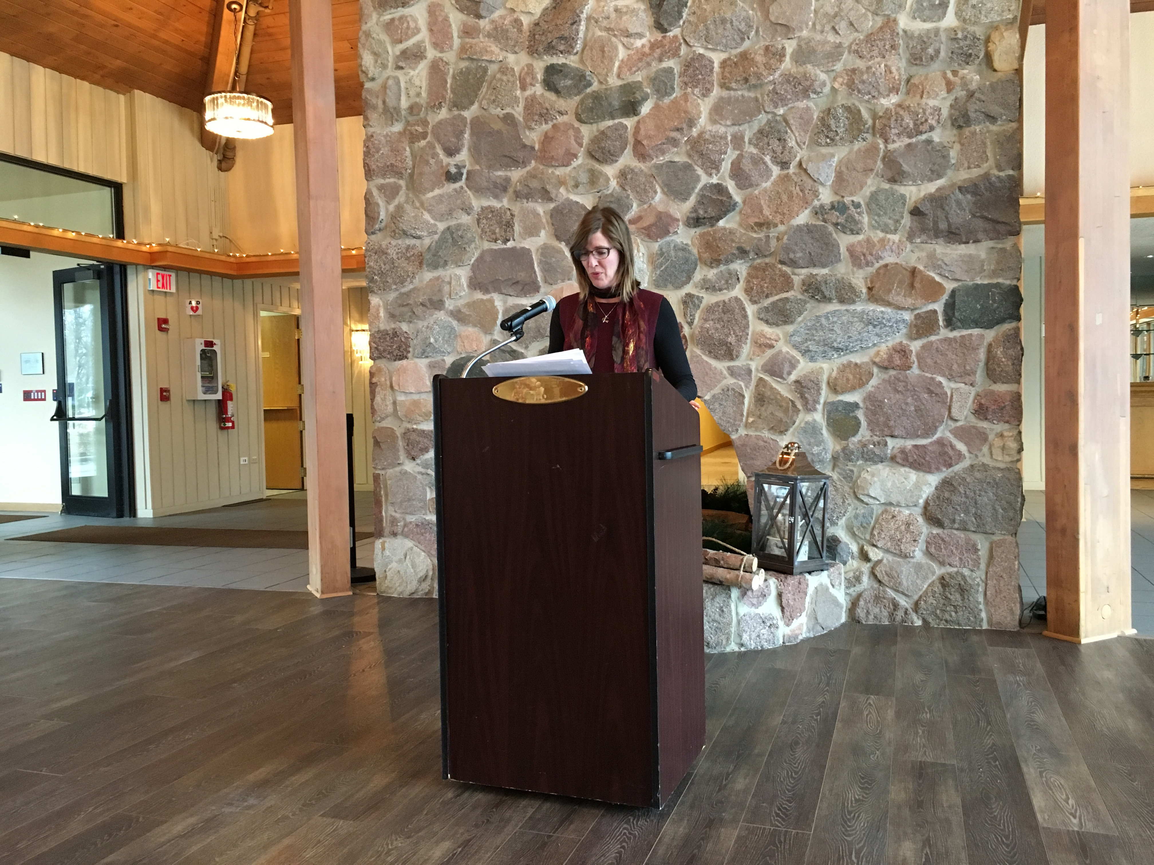 Lisa McGinn WSMC Annual Meeting Jan 2018