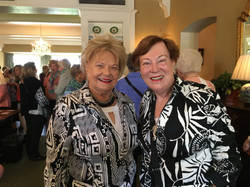 Christine S. and Jeanne K., May Luncheon 2018