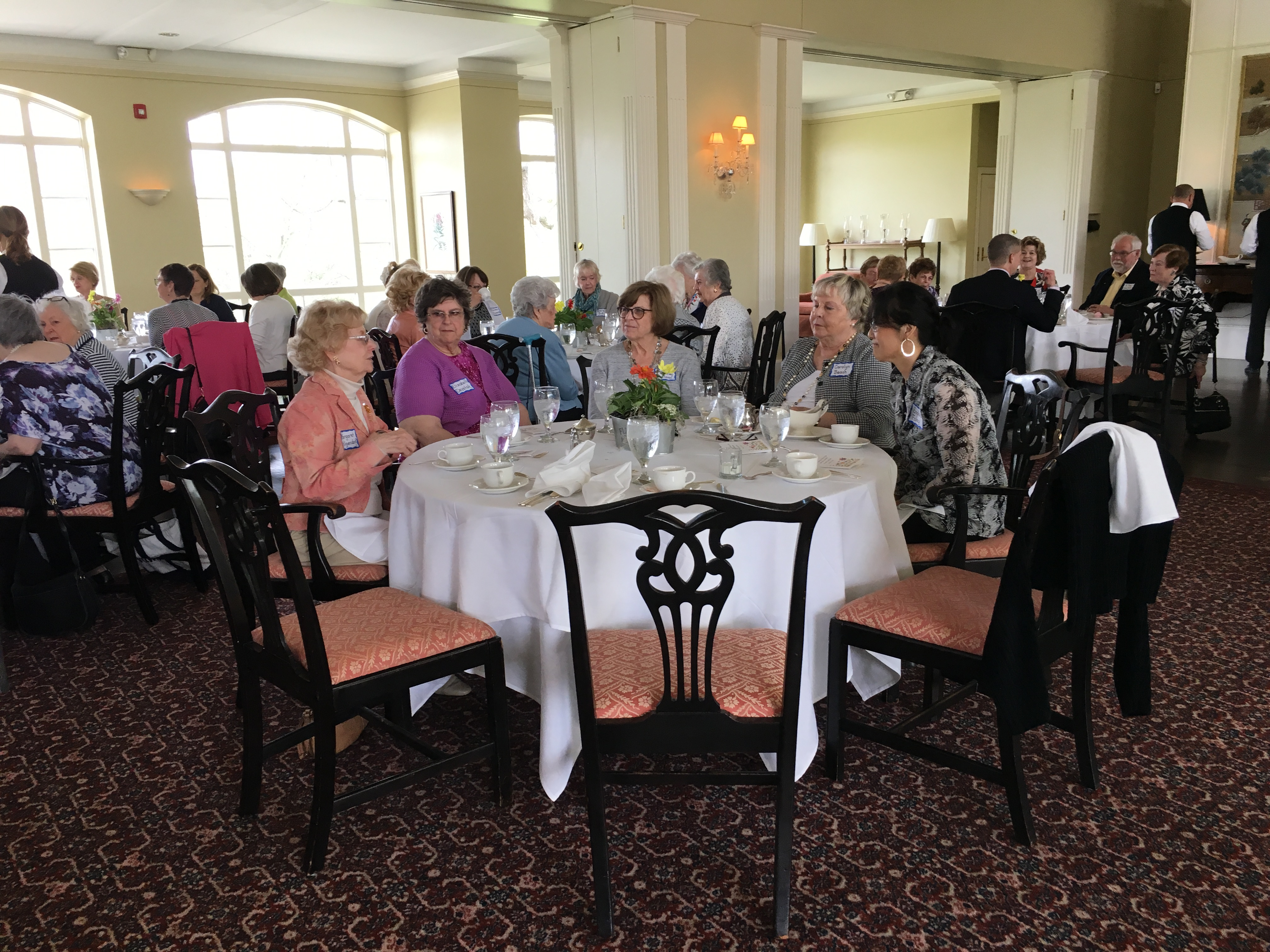 May 2018 Luncheon, Table 2