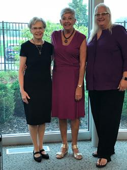 Nola, Peggy B. and Janet Mensen R., Oct.