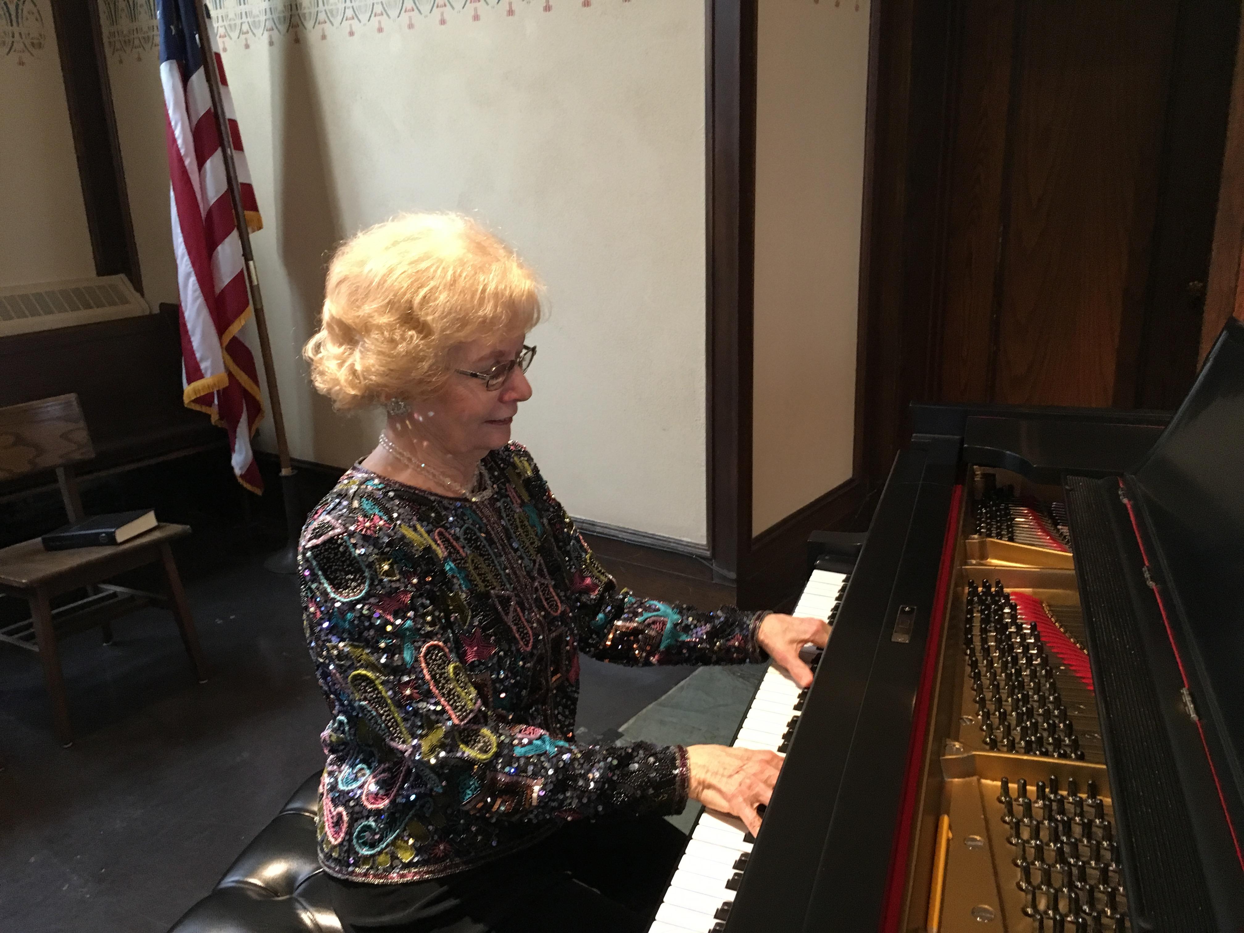 WSMC Margaret at piano 95th Anniv Concert 1-24-16 IMG_0735