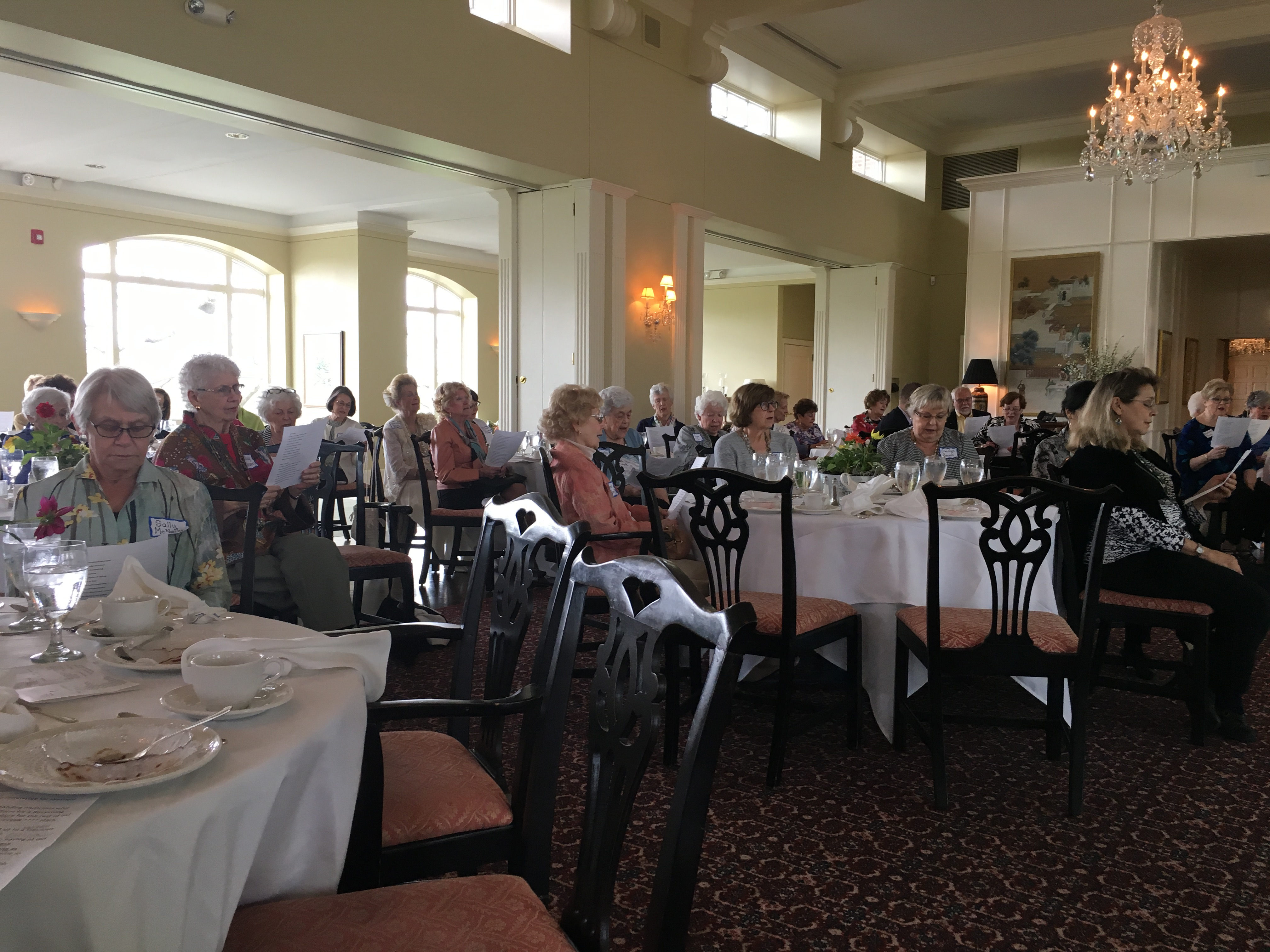 May 2018 Luncheon, Program Cafe Music