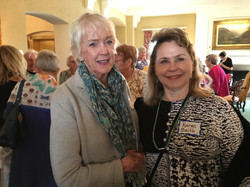 Karen Smith and friend, May Luncheon 2018