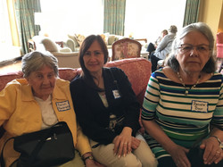 Marion R. and Renate B, May Luncheon 2018