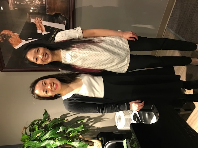 Susan Tang, Louise Chan, April 15, 2018