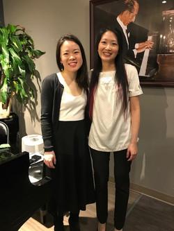 Susan Tang, Louise Chan, April 15, 2018