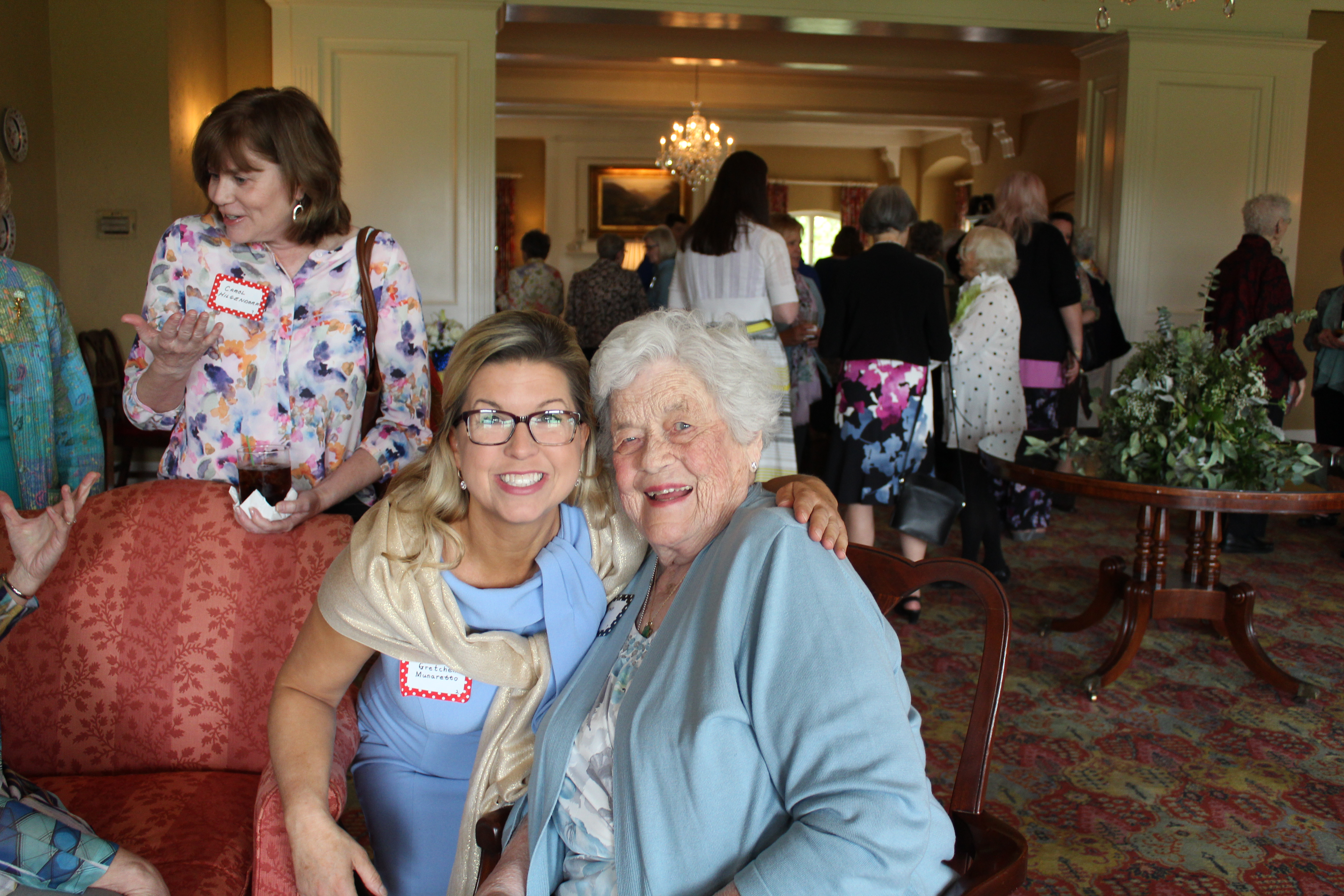 Gretchen and Dorothy, May 08, 2019 Lunch