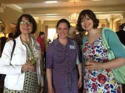 Roseanne Rosenthal, Erin Cleary & Melissa Raub, Spring Luncheon 2017 IMG_1554