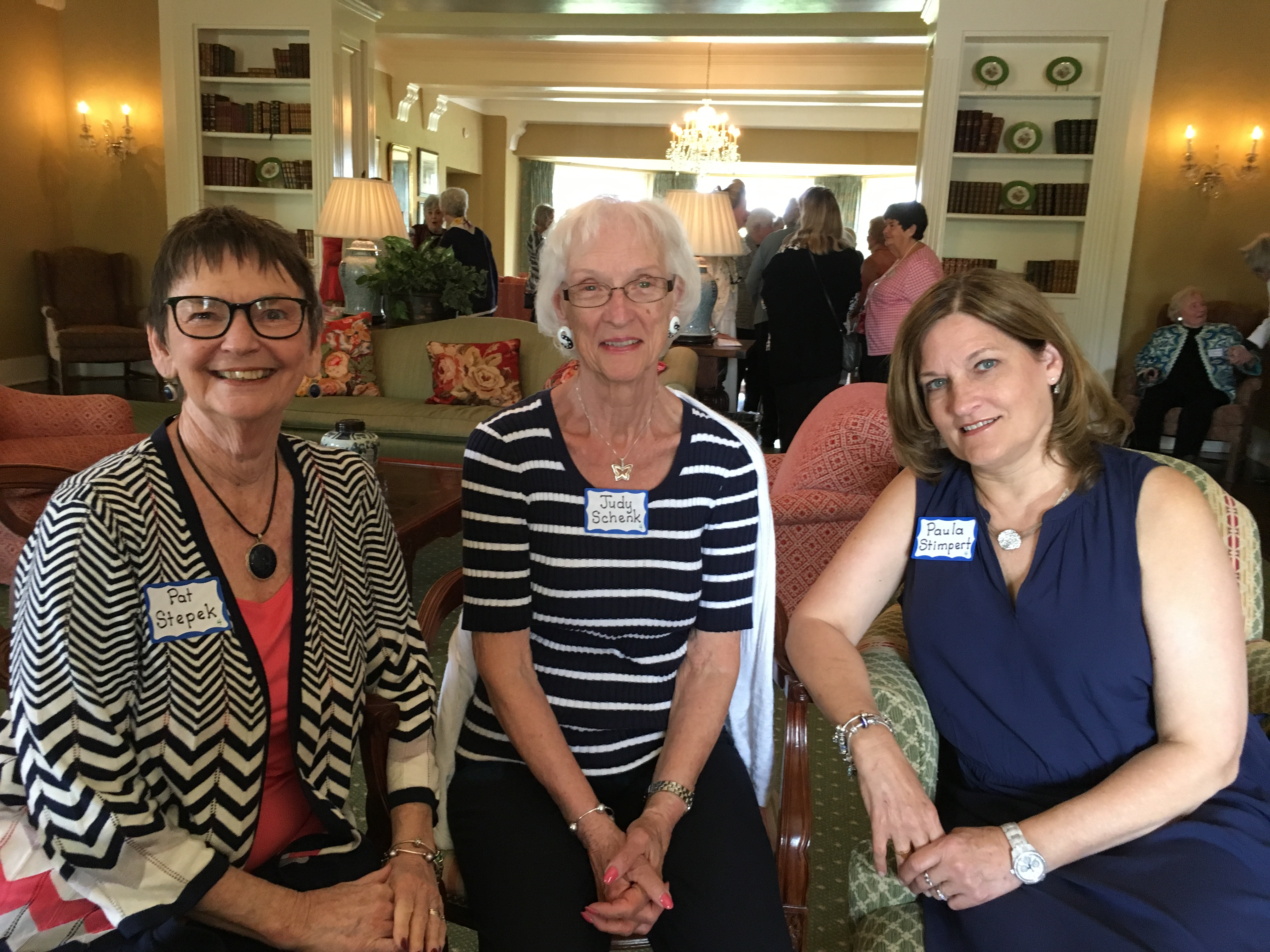 Judy Schenk and friends, May Luncheon 2018