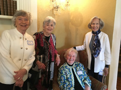 Kathryn P. and friends, May Luncheon 2018