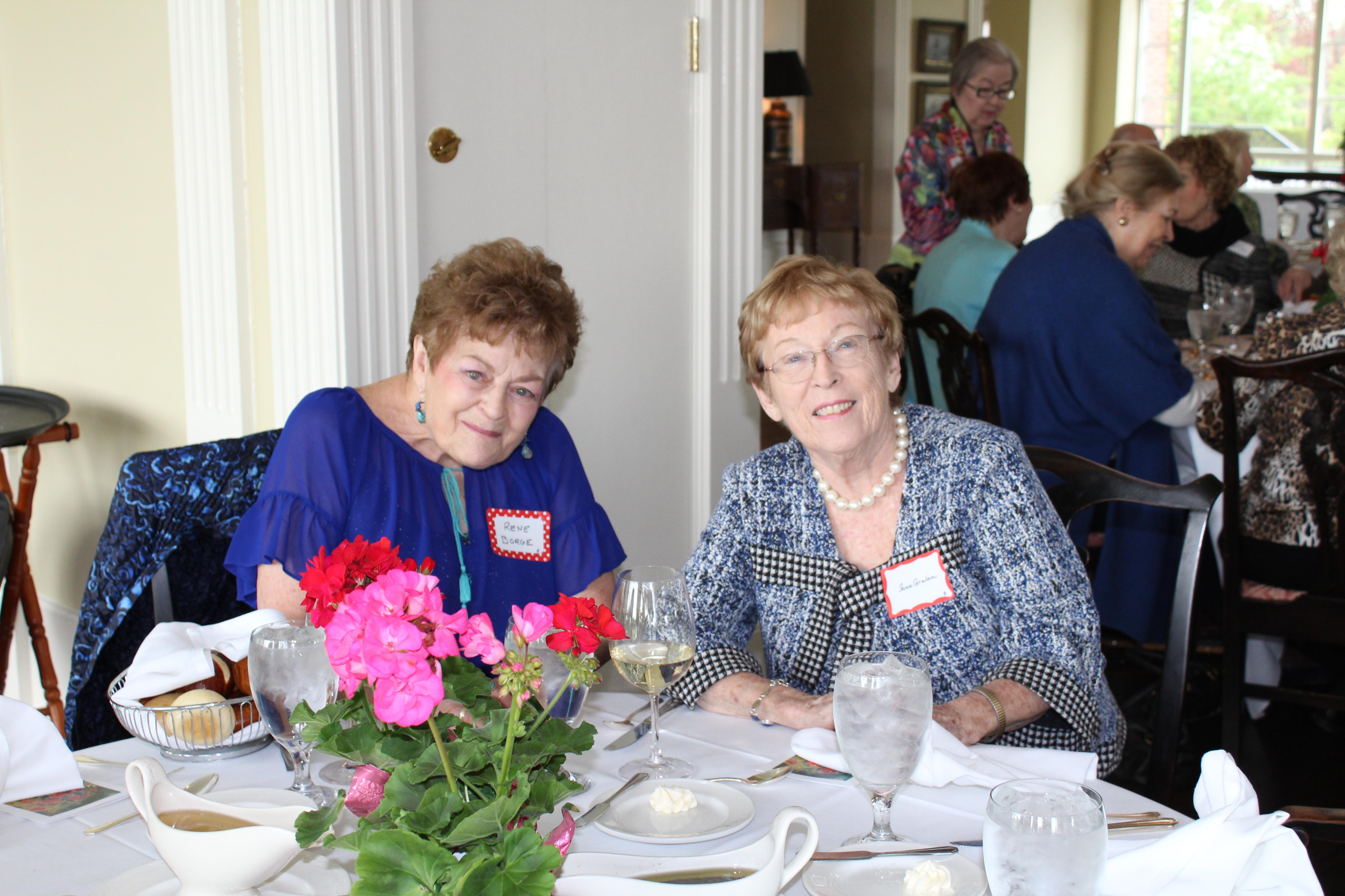 Renee B, Jane G, May 08, 2019 Luncheon