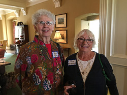 Jane Meadowcroft and friend, May Luncheon 2018