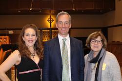 Celeste Martino, Paul Seeley, Joan Bentley Hoffman, April 2017 IMG_0137-2