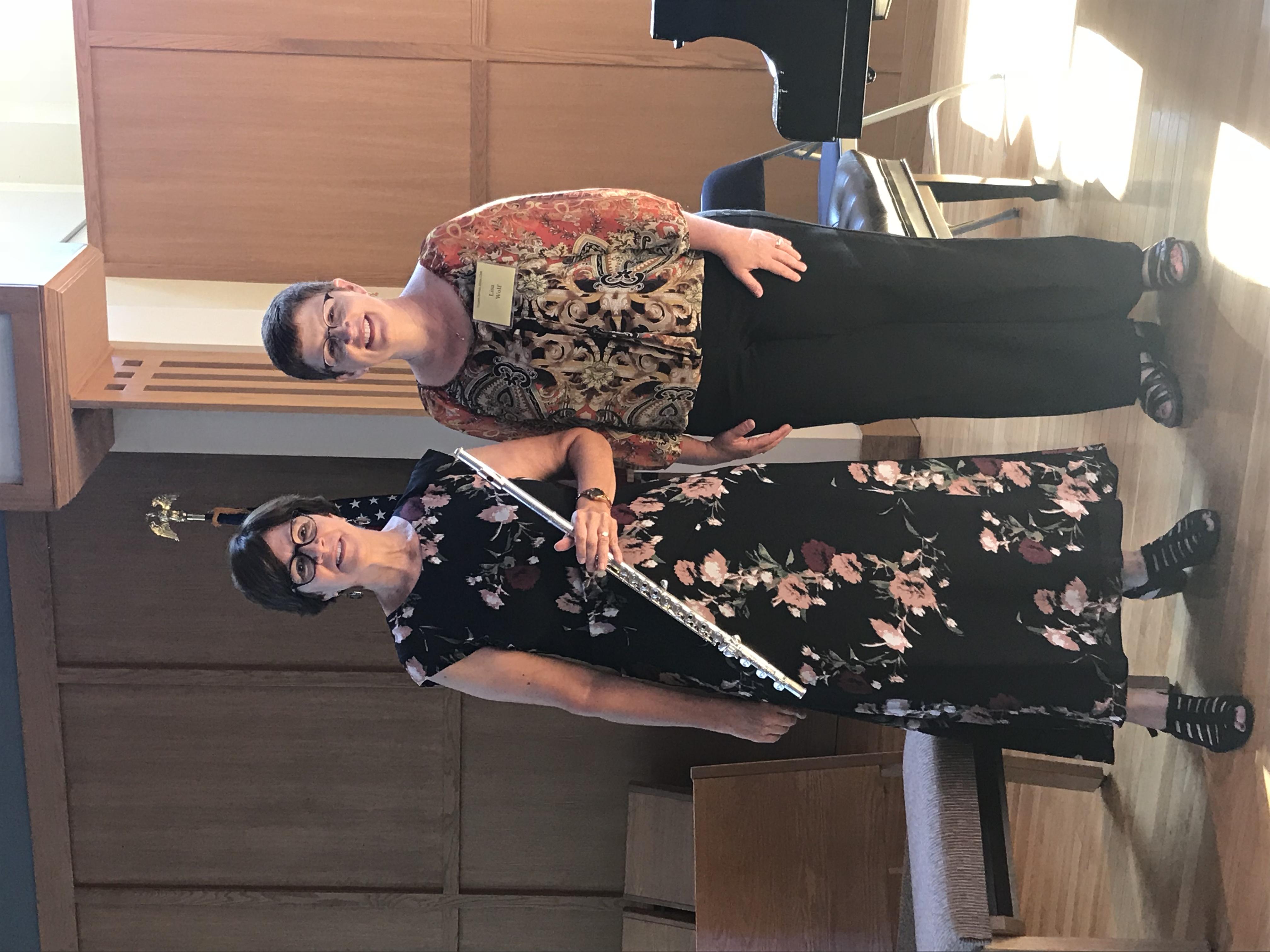 Karin Ursin and Lisa Wolf