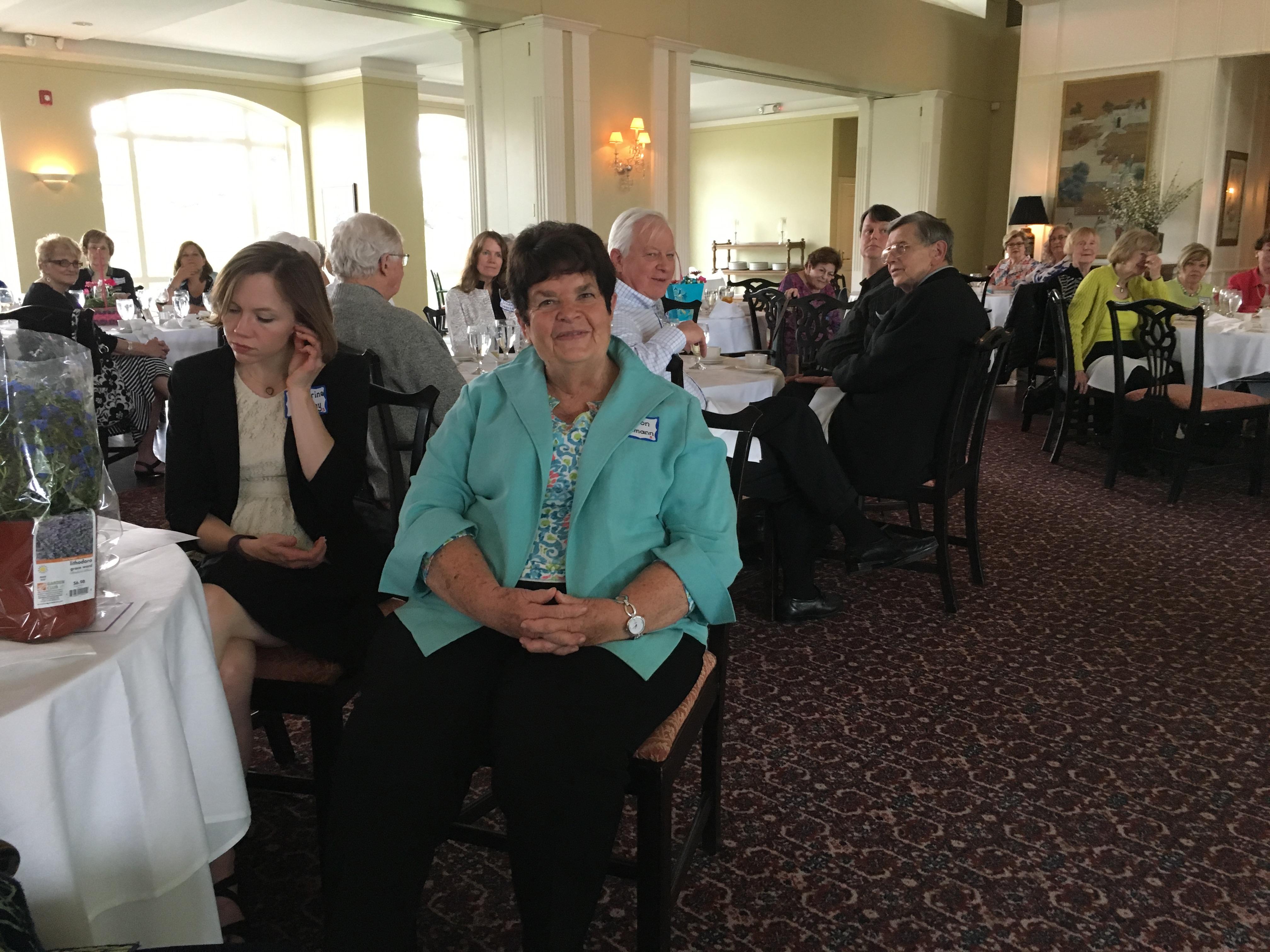 Sharon Bachmann, Spring Luncheon 2017 IMG_1585