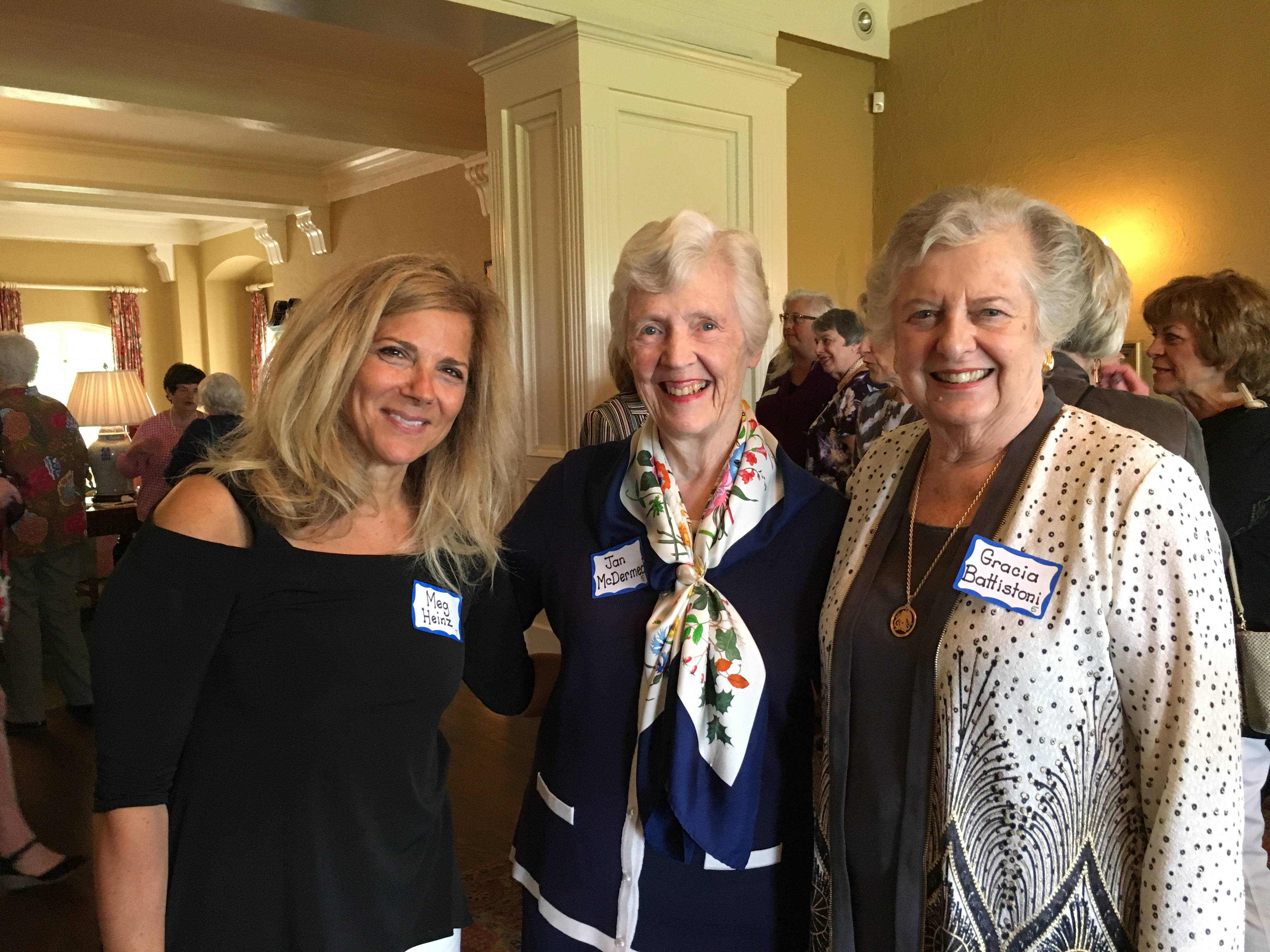 Jan McDermed and friends, May Luncheon 2018
