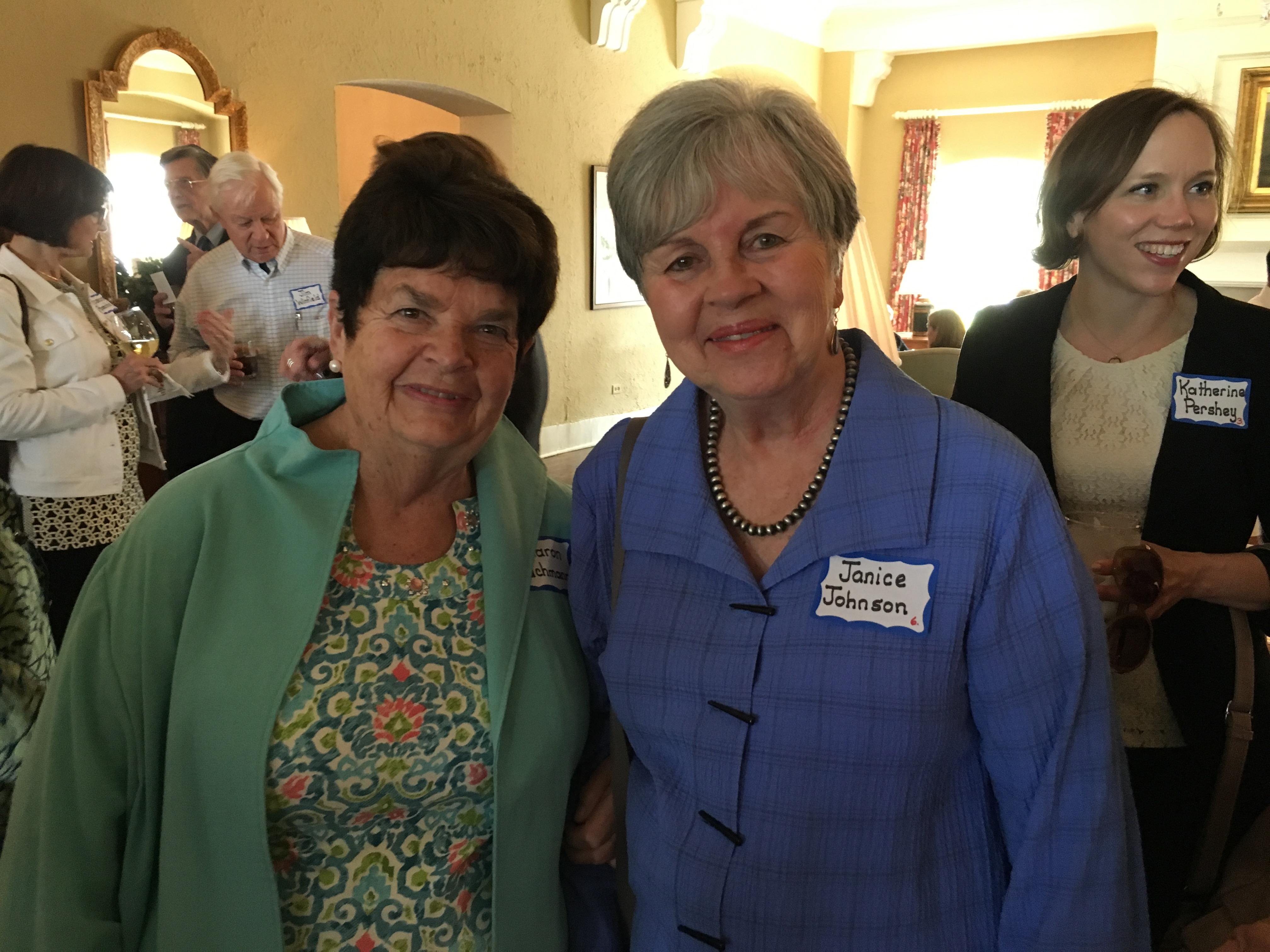 Sharon Bachmann & Janice Johnson, Spring Luncheon 2017 IMG_1561