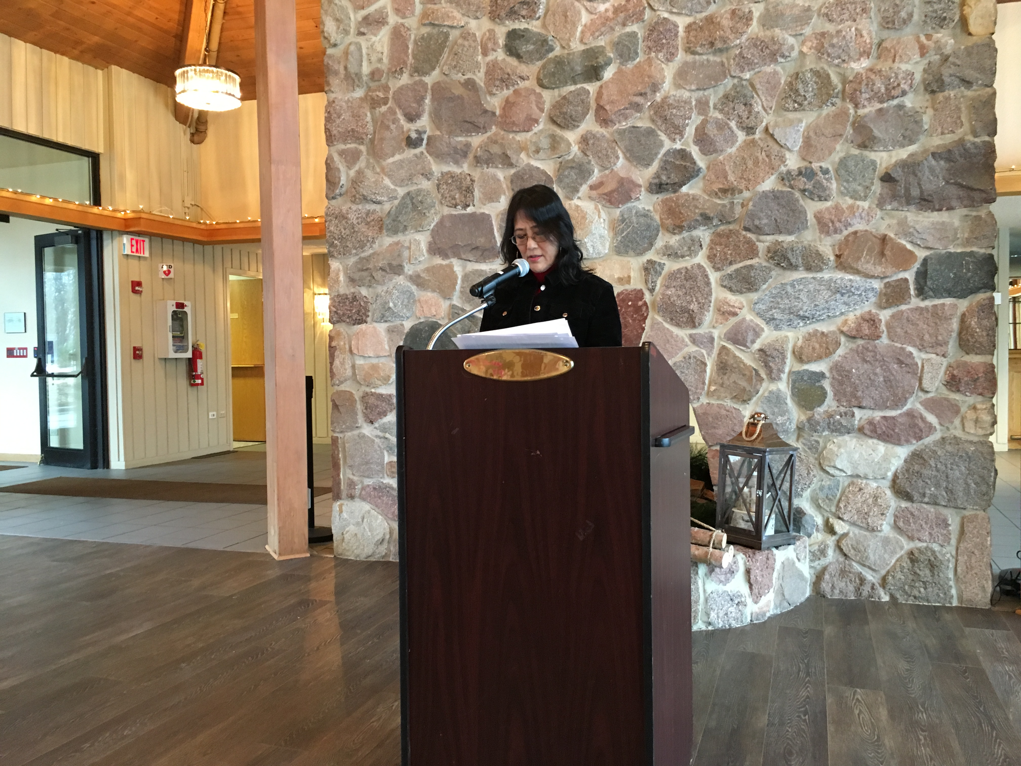 Sophia Foley, January 2018, Business Meeting