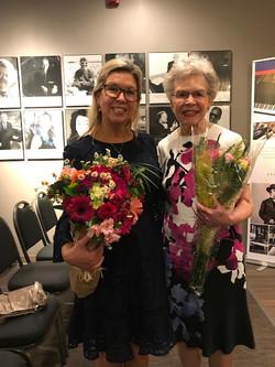 Gretchen Munaretto and Nola Gustafson, April 15, 2018