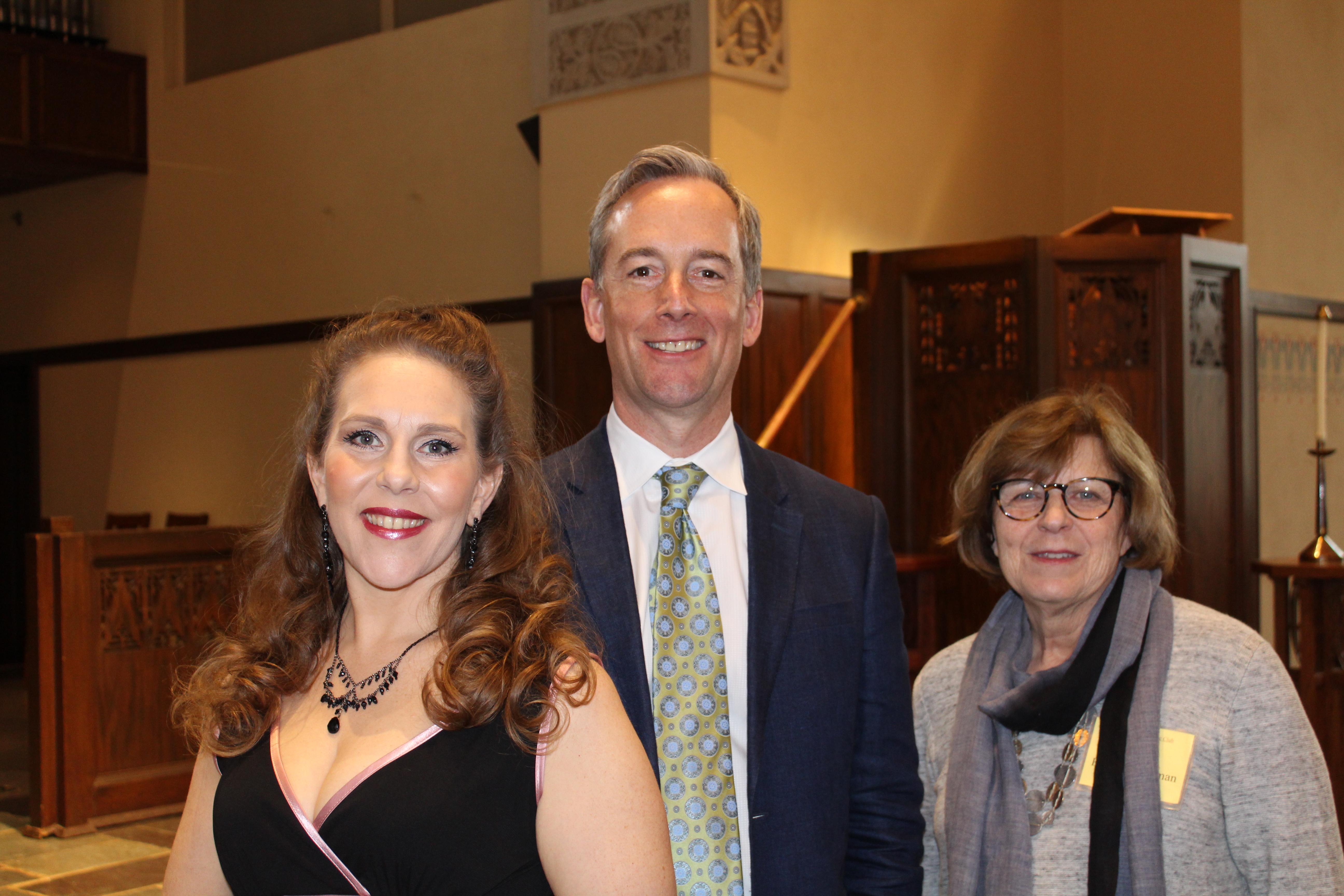 Celeste Martino, Paul Seeley, Joan Bentley Hoffman, April 2017 IMG_0140