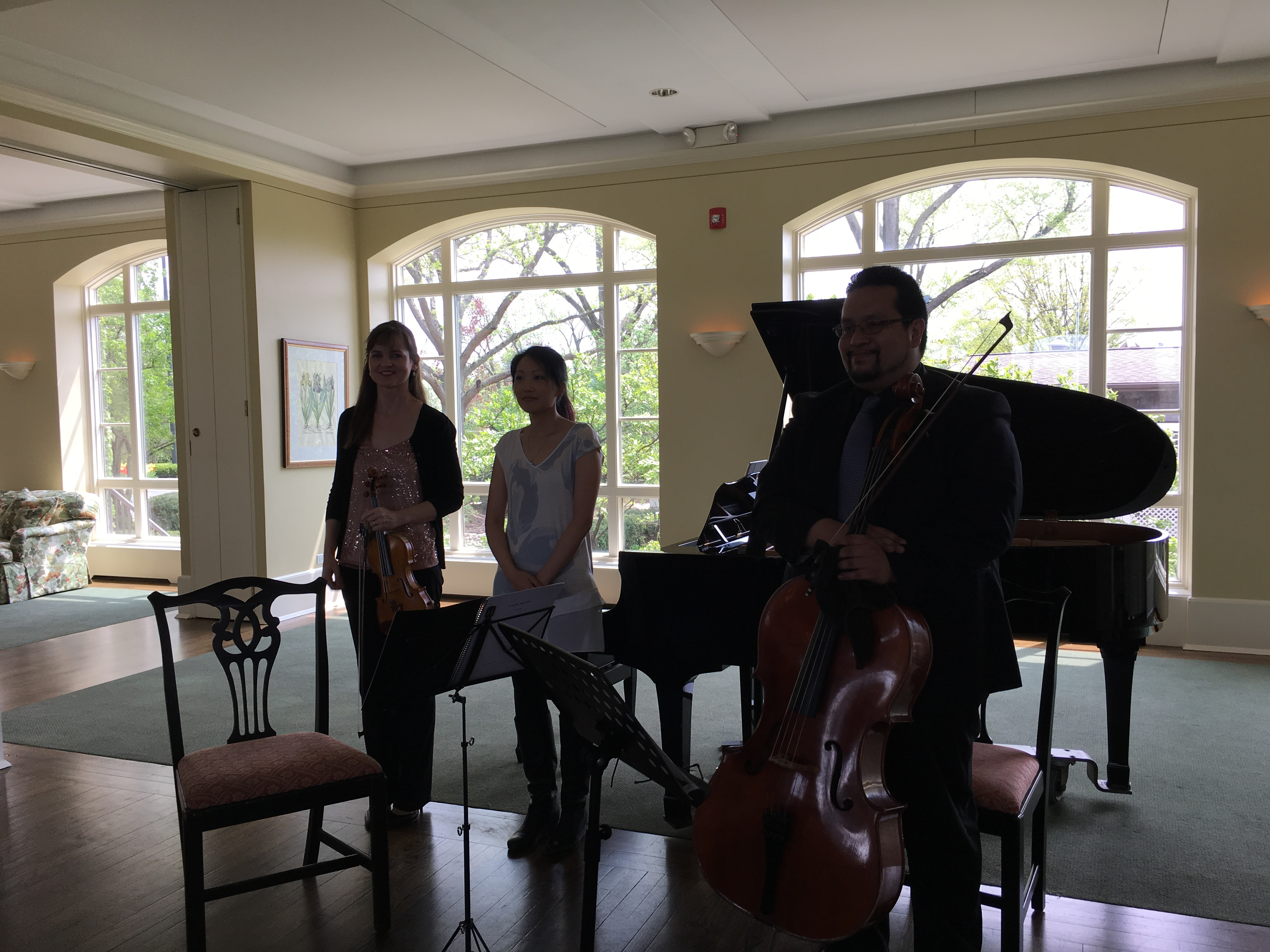 Kate Carter, Louise Chan, Victor Sotelo, May 2018 Luncheon