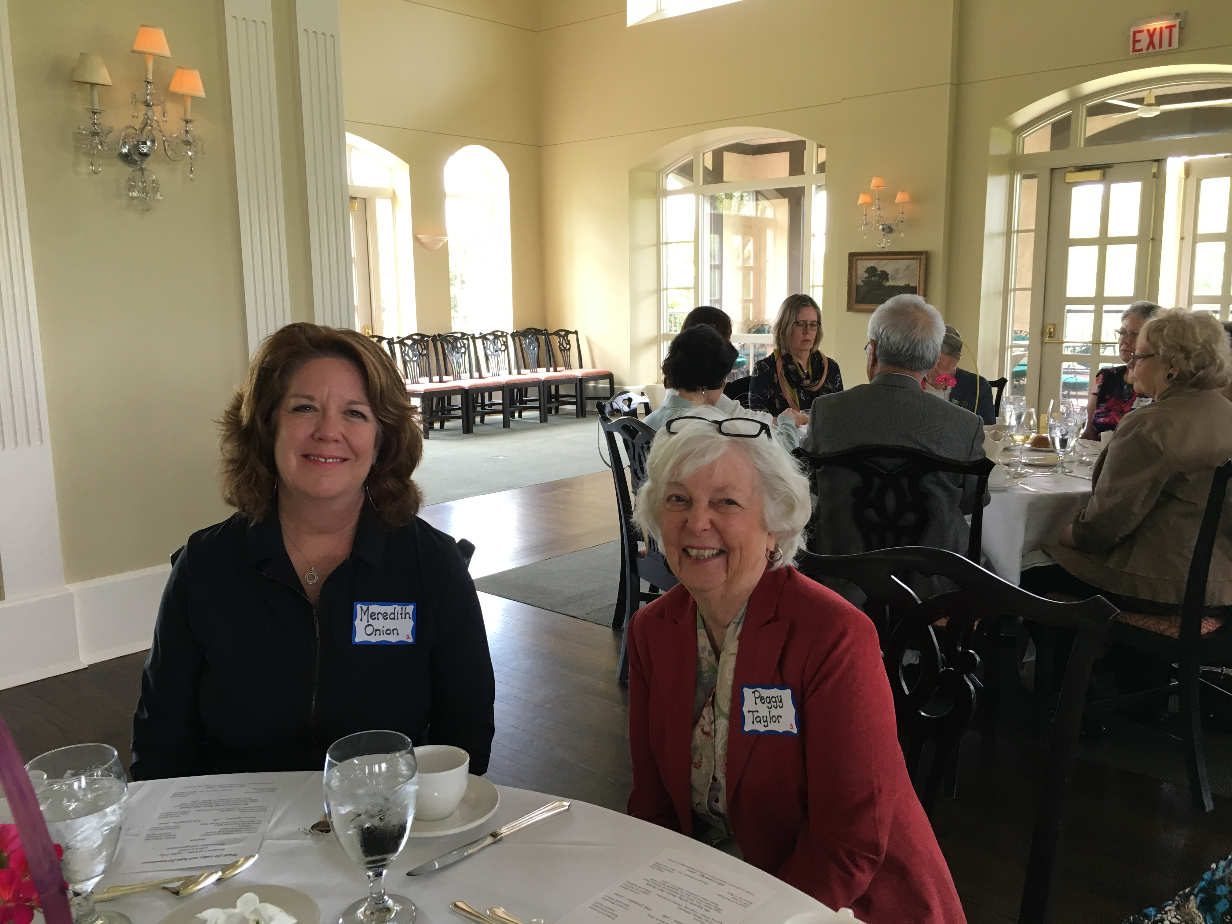 Peggy Taylor, Spring Luncheon 2017 IMG_1577