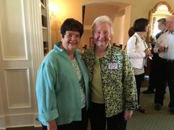 Sharon Bachmann & Kathryn Price, Spring Luncheon 2017 IMG_1562