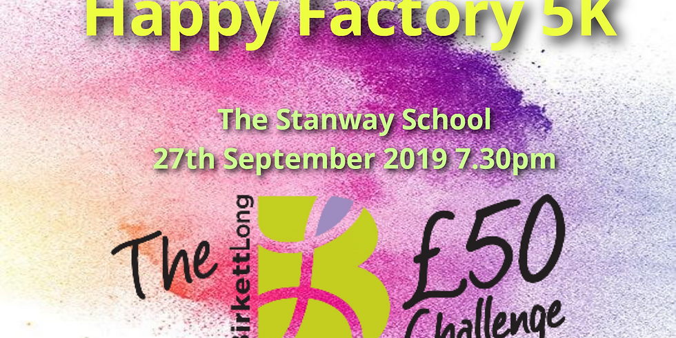Happy Factory 5K in aid of St Helena Hospice