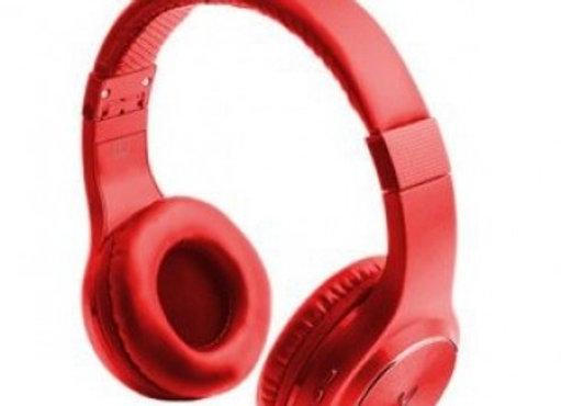 Diadema VORAGO, Rojo-Bluetooth