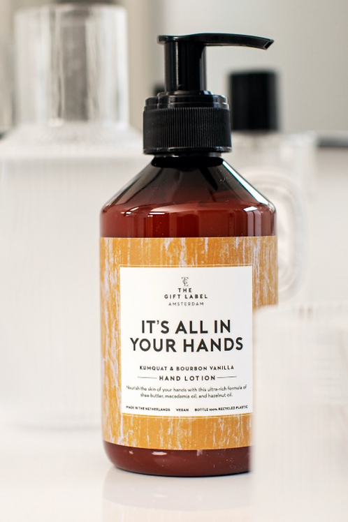 ITS ALL IN YOUR HANDLOTION