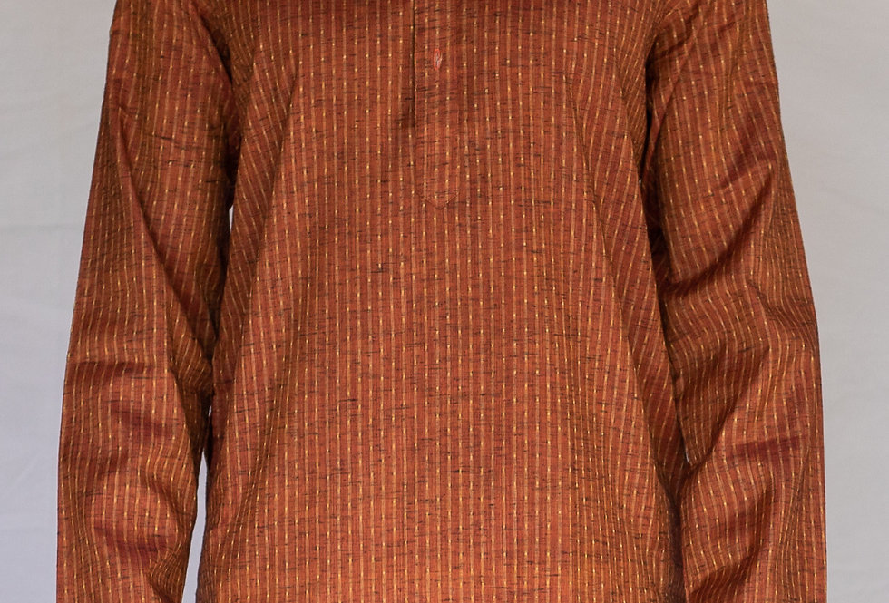 Chanderi Cotton Silk mix Kurta