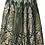 Thumbnail: Banarasi Silk skirt (Dark Henna Green)