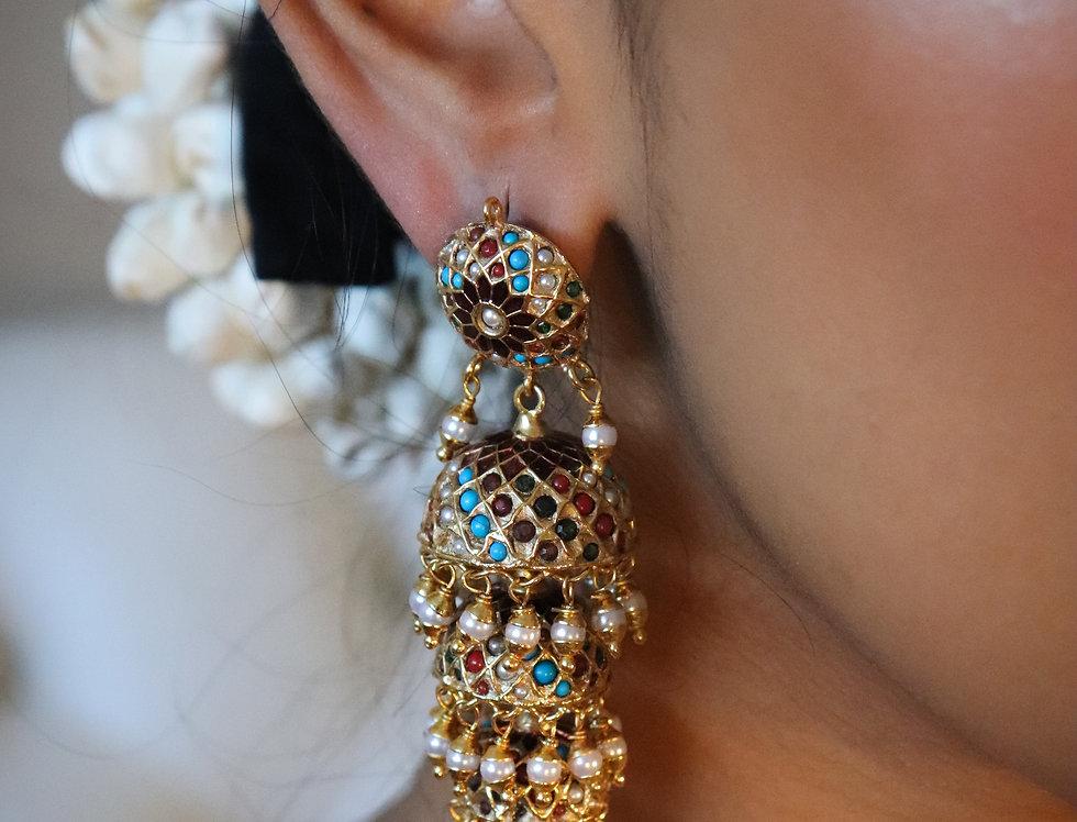 Jarou & Pearl Earring Pair