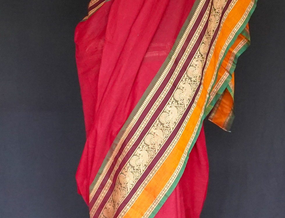 Bengali Cotton Saree