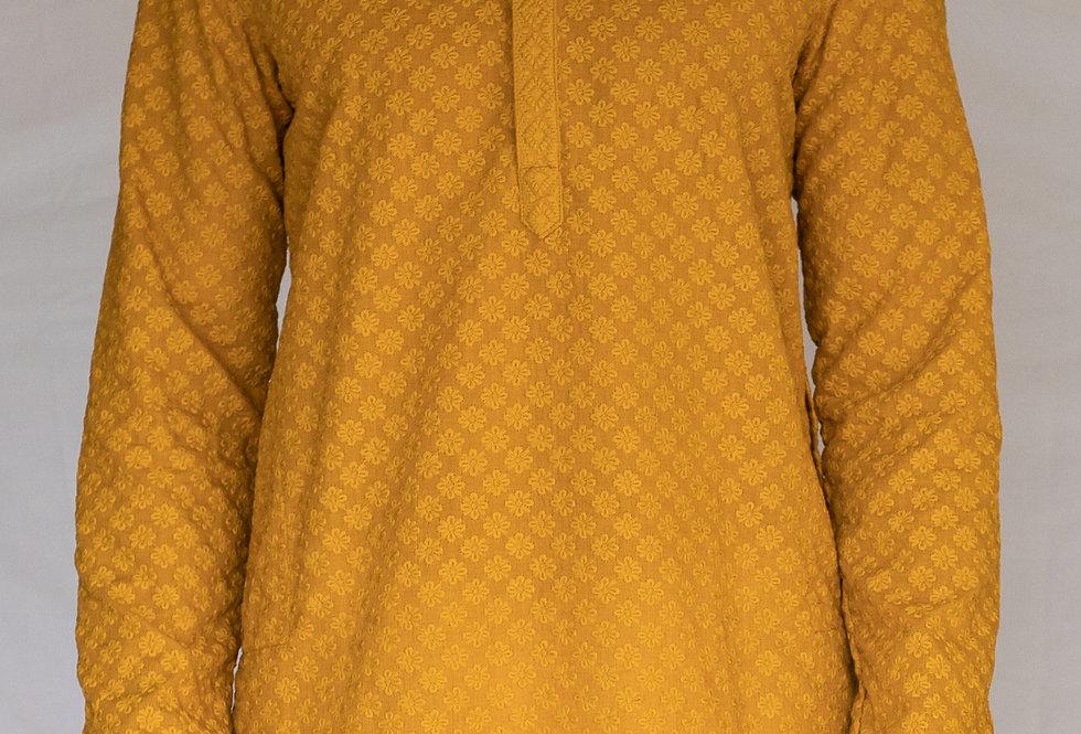 Chickankari Cotton Kurta