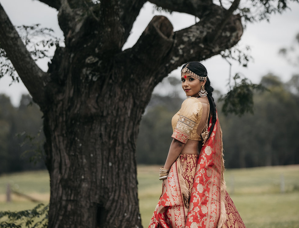 Silk Brocade Lehenga/Banarasi set