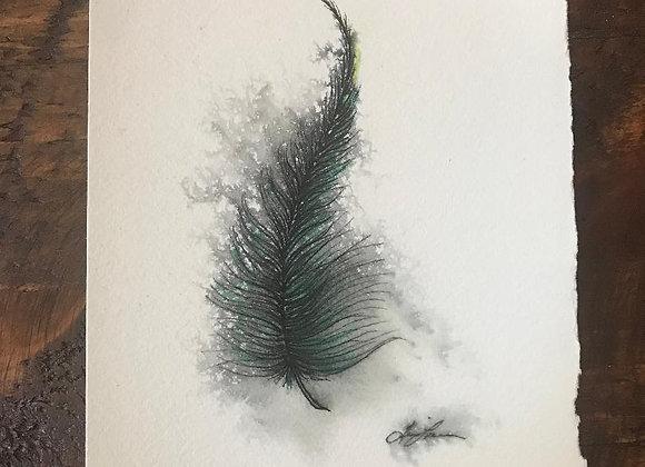 """Feather"" Original Art"