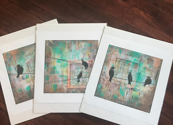 """""""Communication"""" Print Series (sold individually)"""