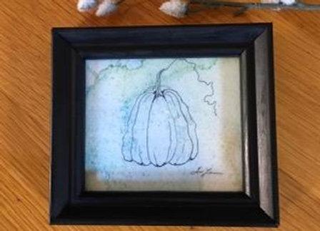 Pumpkin Original Art