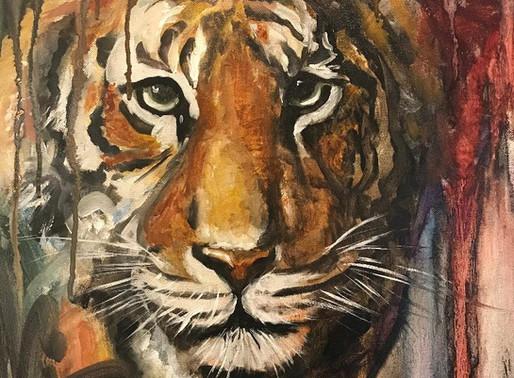 Roar!! Grit, Grace, and how Art is often like Life.