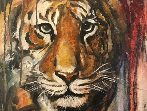 Roar!! Grit, Grace, and how Art is often like Life.