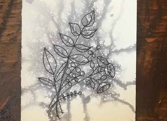 """Fresh Pickings""  Original Ink (Framed)"